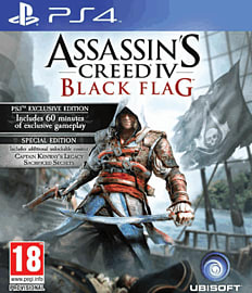 Assassin's Creed IV: Black Flag Special Edition - Only at GAME PlayStation 4 Cover Art