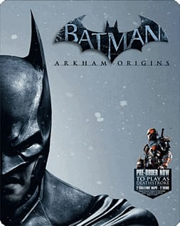 Batman: Arkham Origins Heroes and Villains Edition - Only at GAME Xbox-360 Cover Art