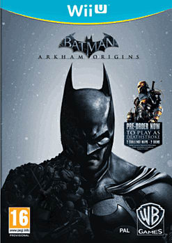 Batman: Arkham Origins Wii U Cover Art