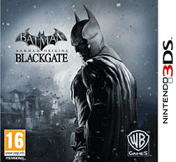 Batman: Arkham Origins Blackgate 3DS Cover Art