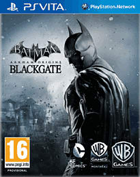 Batman: Arkham Origins Blackgate PS Vita Cover Art