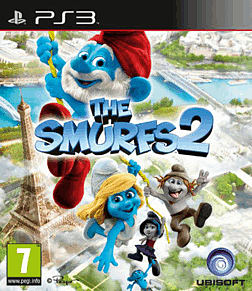 The Smurfs 2 PlayStation 3 Cover Art