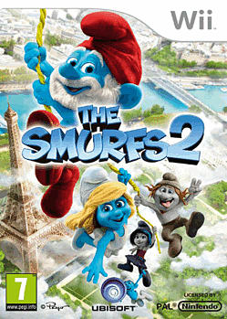 The Smurfs 2 Wii Cover Art