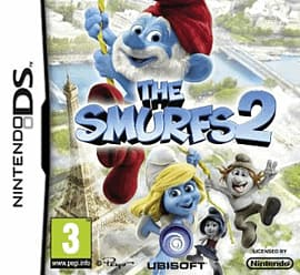 The Smurfs 2 DSi and DS Lite Cover Art