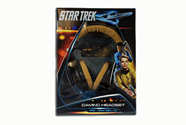 Star Trek Enterprise Gaming Headset For Xbox 360, PS3 And PC Accessories