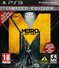 Metro: Last Light GAME Exclusive Edition PlayStation 3 Cover Art