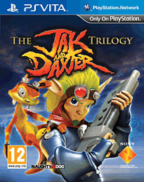 Jak & Daxter Trilogy PS Vita Cover Art