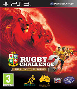 Rugby Challenge 2 PlayStation 3 Cover Art