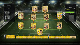 FIFA 15 Ultimate Team Wallet £6 Top Up screen shot 2