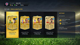 FIFA 15 Ultimate Team Wallet £6 Top Up screen shot 3