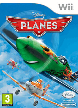 Disney Pixar Planes the Video Game Wii Cover Art