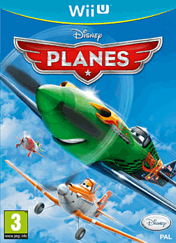 Planes Wii U Cover Art