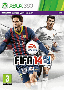 FIFA 14 (includes 4 Gold FIFA Ultimate Team packs) Xbox 360 Cover Art
