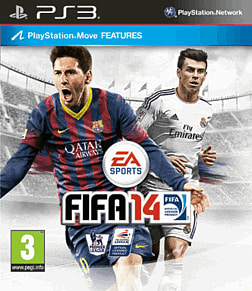 FIFA 14 (includes 4 Gold FIFA Ultimate Team Packs) PlayStation 3 Cover Art