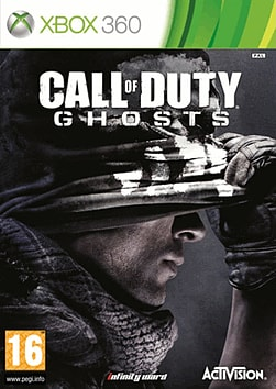 Call of Duty: Ghosts Xbox 360 Cover Art