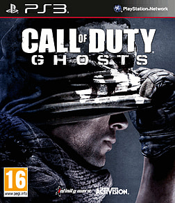 Call of Duty: Ghosts PlayStation 3 Cover Art