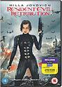 Resident Evil Retribution DVD