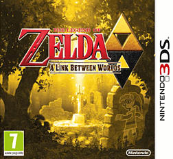 The Legend of Zelda: A Link Between Worlds 3DS Cover Art