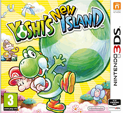 Yoshi's New Island 3DS Cover Art