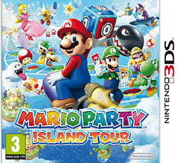Mario Party: Island Tour 3DS Cover Art