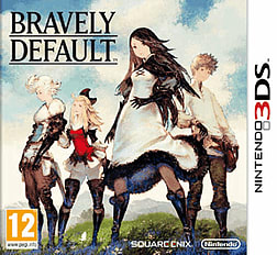 Bravely Default 3DS Cover Art