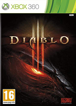 Diablo III Xbox 360 Cover Art