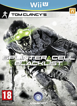 Tom Clancy's Splinter Cell: Blacklist Wii U Cover Art