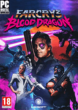 Far Cry 3: Blood Dragon PC Games Cover Art