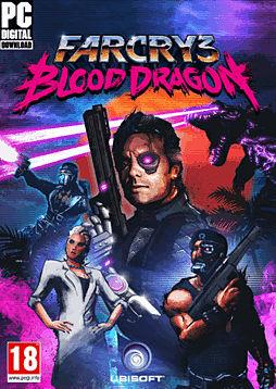 Far Cry 3: Blood Dragon PC Games Cover Art