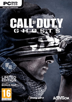 Call of Duty: Ghosts Free Fall Edition - Only at GAME PC Games Cover Art