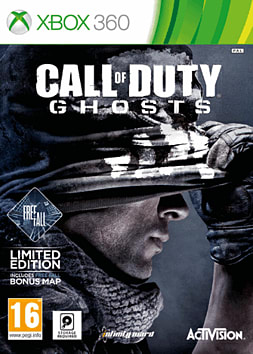 Call of Duty: Ghosts Free Fall Edition - Only at GAME Xbox 360 Cover Art