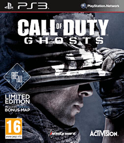 Call of Duty: Ghosts Free Fall Edition - Only at GAME PlayStation 3 Cover Art