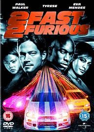 2 Fast 2 Furious DVD
