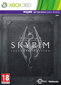 The Elder Scrolls V: Skyrim Legendary Edition Xbox 360 Cover Art