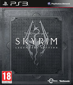 The Elder Scrolls V: Skyrim Legendary Edition PlayStation 3 Cover Art