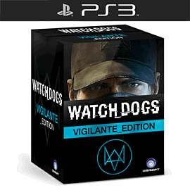 Watch Dogs Vigilante Edition - Only at GAME PlayStation-3 Cover Art