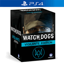 Watch Dogs Vigilante Edition PlayStation-4 Cover Art