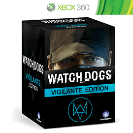 Watch Dogs Vigilante Edition - Only at GAME Xbox-360 Cover Art