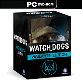 Watch Dogs Vigilante Edition - Only at GAME PC-Games Cover Art