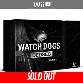 Watch Dogs Dedsec Edition Wii-U Cover Art
