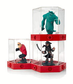 Disney INFINITY Modular Figure Display Case (3 pack) Toys and Gadgets