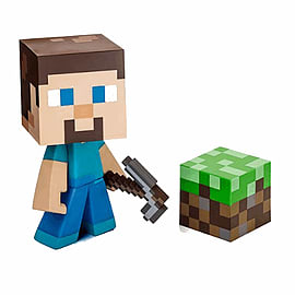 Minecraft Steve Collectable Vinyl Figure Toys and Merchandise Cover Art