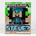 Minecraft Diamond Steve Collectable Vinyl Figure Toys and Merchandise