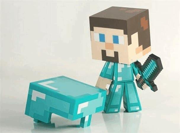 Next Minecraft Diamond Steve
