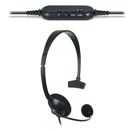 PlayStation 3 Wired USB Chat Headset Accessories