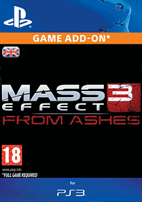 Mass Effect 3: From Ashes PlayStation Network