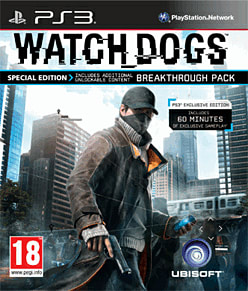 Watch Dogs Special Edition - Only at GAME PlayStation 3 Cover Art