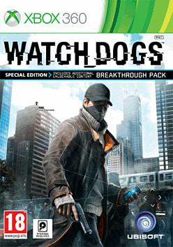 Watch Dogs Special Edition - Only at GAME Xbox 360 Cover Art
