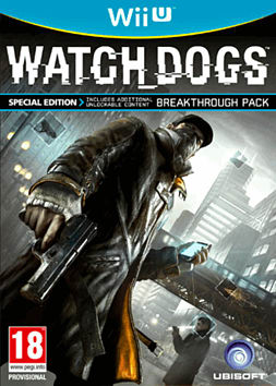 Watch Dogs Special Edition Wii U Cover Art
