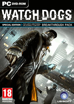 Watch Dogs Special Edition - Only at GAME PC Games Cover Art
